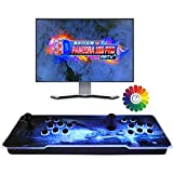 Consola de Videojuegos, 3D Pandora X 8000 in 1 Multijugador Arcade Game Console, 4 Joystick Partes de la Fuente de alimentación HDMI y VGA y Salida USB