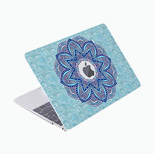 SDH Case Compatible Older for MacBook Pro Retina 13 inch (Release 2015-end 2012),Plastic Pattern Hard Shell & Gradient Keyboard Skin Cover for Mac Book Pro 13 (Model:A1502/A1425), Mantra 1