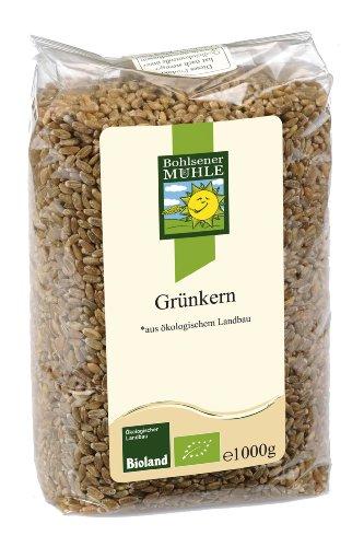 Bohlsener Mühle Grünkern, 2er Pack (2 x 1000 g Packung) - Bio