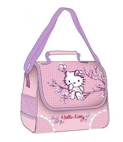 Sac à goûter Hello Kitty Fleurs de Cerisier Rose