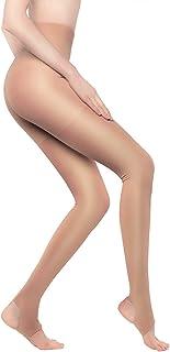 comprar comparacion +MD Medias medias de compresión para mujer 15-20 mmHg medias de compresión medias elásticas de invierno