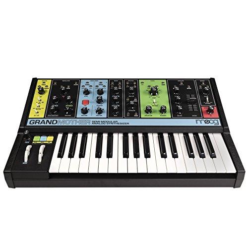 Moog Grandmother Semi-Modular Analog Keyboard Synthesizer