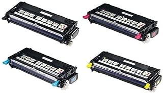Replacement Dell Laser 3115cn Set of 4 High Capacity Laser Toner Cartridges (1 Black, 1 Cyan, 1 Magenta, 1 Yellow)
