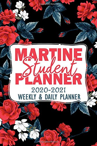 Martine : Student Planner 2020-2021 Weekly and Daily Planner...