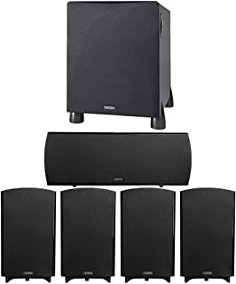 Definitive Technology ProCinema 1000 System with ProCenter 2000 Upgrade - 6 Piece 5.1 Channel Home Theater Speaker System