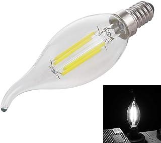 SGJFZD C35 E14 2.8W LED Light Bulb 4 LEDs 300 LM Retro Energy Saving LED Filament Light Bulb for Halls AC 220V (Size : Whi...