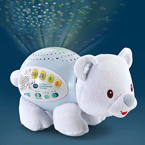 VTech Baby Lil' Critters Soothing Starlight Polar Bear Nursery Projector