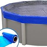Blue Wave - Sellador de cubierta para piscinas elevadas, protección...