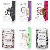 Auswahl an italienischem Naturalia-Reis: Carnaroli, Thai-Elettra, Ermes roter Reis, Venere schwarzer...