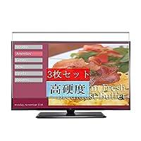 3枚 Sukix フィルム 、 LG 29LY570H 28.5インチ テレビ 向けの 液晶保護フィルム 保護フィルム シート シール(非 ガラスフィルム 強化ガラス ガラス )