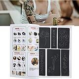 Stencil per Tatuaggi, Tatuaggi Temporanei Stencil Stampo Semi-Permanente per Tatuaggi Grandi,...