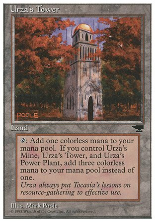 Magic The Gathering - Urza39;s Tower (Forest) - Chronicles