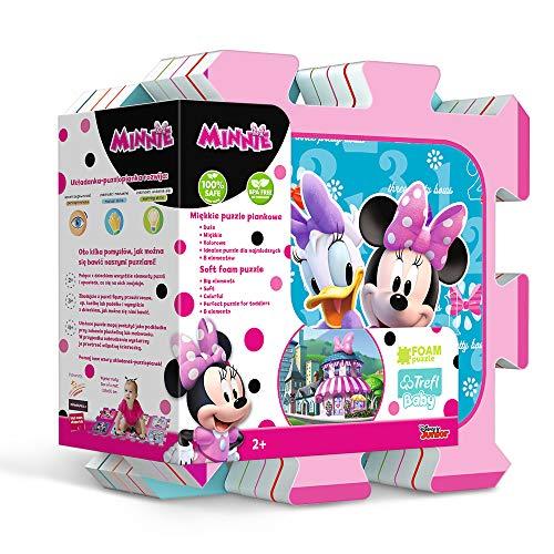 Trefl Puzzle sous Licence Minnie Mouse 8 pièces, 60297