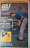 Putting for Profit : Golf Digest - Bob Toski, Tom Ness