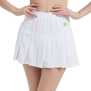 TOPTIE Big Girls Running Skorts Casual Gym Tennis Skirt with Shorts