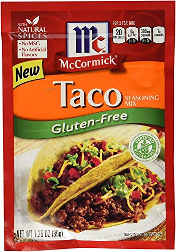 Mccormick Seasoning Mix Gluten-free Taco 1.25oz Pack of 3