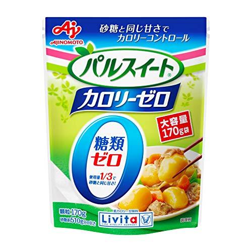 大正製薬 リビタ (Livita) パルスイートカロリーゼロ 顆粒袋入 170g