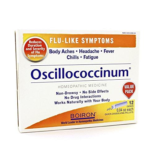 Boiron Oscillococcinum Homeopathic Flu Medicine - 6 pk, Pack of 3