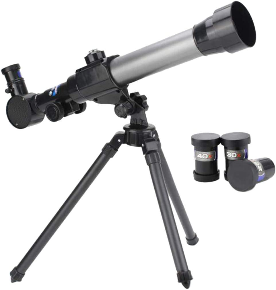 Children Astronomical Telescope Rate:20X//30X//40X for a Young Astronomer Black
