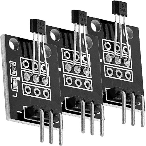 AZDelivery 3 x KY-003 digitaler Hall Effekt Sensor Transistor kompatibel mit Arduino inklusive E-Book!