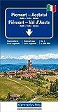 Piemont - Aostatal Regionalkarte Italien Nr. 1: Aosta-Turin-Savona , Massstab 1:200000 (Kümmerly+Frey Reisekarten)