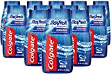Colgate MaxFresh Fluoride Toothpaste Gel with Whitening and Breath Strips, Cool Mint - 4.6 ounce (12 Pack)