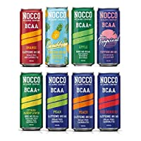Nocco RTD (Ready to Drink) BCAA is the perfect training companion from the Swedish 'No Carb Company' offering anti-catabolic properties plus six vitamins including B6, B12, Biotin and D3 and a great tasting sugar free formula. These mixed-flavour han...