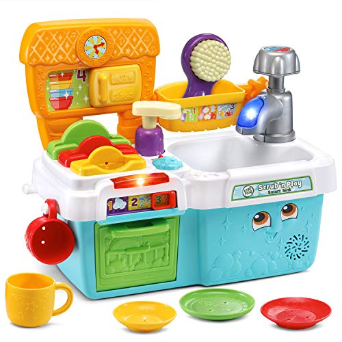 LeapFrog Scrub n Play Smart Sink, Multicolor