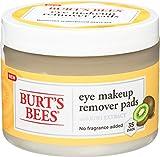 Burt's Bees Eye Makeup Remover Pads - Estratto di Kiwi - 35Pc Pads35 Stück
