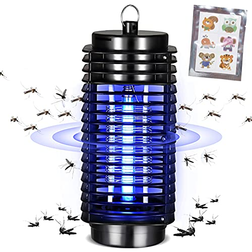 Bug Zapper,Electronic Mosquito Zappers for Indoor & Outdoor,Mosquito Trap,Mosquito Killer,Fly Zapper,Gnat Killer for Indoor,Indoor Bug Zapper for...