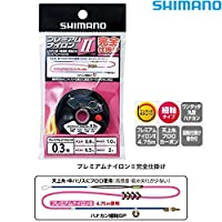 シマノ プレミアムナイロン2 完全仕掛け RG-AN1R 0.3号