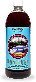 Maximum Living MineralRich Plus Aloe Minerals Supplement - 32oz