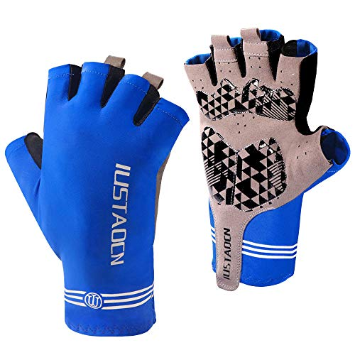 IUSTAOCN Fishing Gloves Kayak Gloves UV Protection Sun Gloves for men and women Mountain Bike Gloves UPF50+,Outdoor Sports Gloves for for Kayaking, Hiking, Paddling, Driving, Canoeing, Rowing, Cycling
