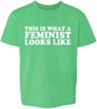This is What A Feminist Looks Like Political Toddler Kids Girl Boy T-Shirt