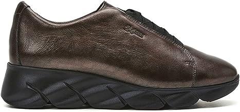 24 HORAS - Comfortabele schoenen bruin metallic - leer