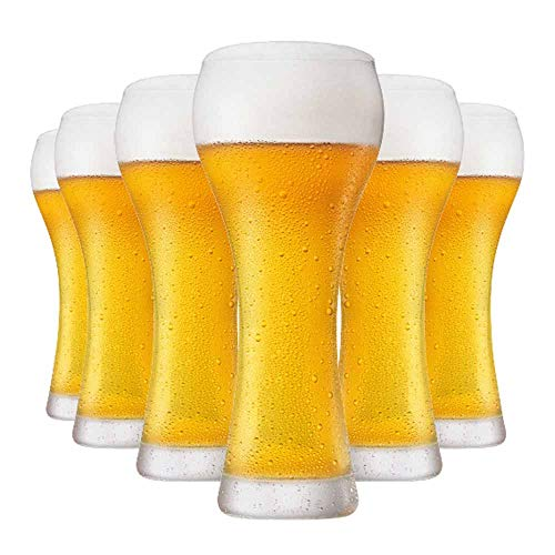 Jogo Copos Cerveja Weiss Premium G Cristal 500ml 6 Pcs
