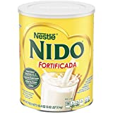NIDO Fortificada is dry whole milk powder with added vitamins and minerals to help support healthy growth and development For ages 4 and up, NIDO Fortificada is formulated to help your child get the right nutrients at the right time Dry whole milk fo...