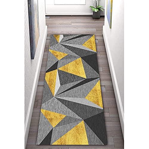 LHYZF Runner Tapis Geometry Escaliers Hall d