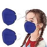 50 Piezas Niños_Protección Desechable Transpirables,5 Capas,96%, Prueba Elástico para Los Oídos,infantil Cómodo para Actividades al Aire Libre, Escuela, Fiesta (G)