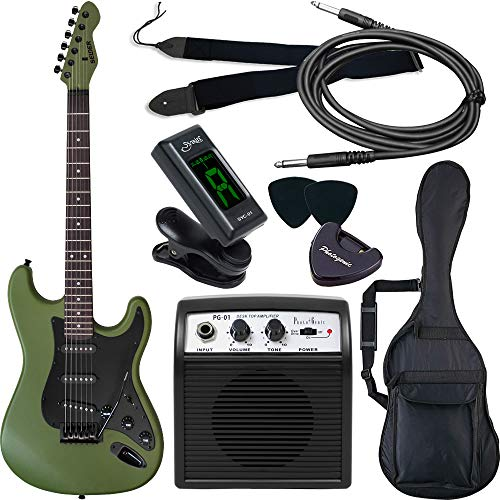 SELDER セルダー エレキギター ストラトキャスタータイプ サクラ楽器オリジナル ST-16/AMG 初心者入門ベーシックセット