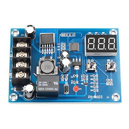 JIACUO XH-M603 Módulo de Control de Carga Almacenamiento de Pantalla Digital Cargador de batería de Litio Interruptor de Control Kit de Placa de protección