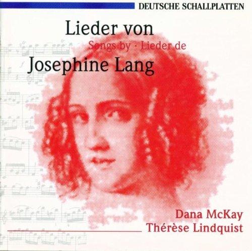 Lieder Von Josephine Lang