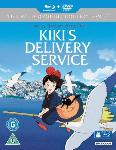 Nicky, la aprendiz de bruja / Kiki's Delivery Service ( Majo no takkyûbin ) ( Witch's Special Express Delivery ) (Blu-Ray & DVD Combo) [ Origen UK, Ningun Idioma Espanol ] (Blu-Ray)