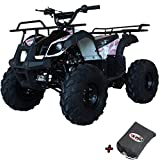 X-PRO ATV for Sale 125cc ATV Quad Youth 4 wheeler ATVs Big Kids Adults ATV Four Wheelers (Pink Camo)