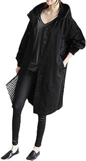 Women's Plus Size Waterproof Hoodie Outdoor Outwear Trenchcoat