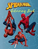 SPIDERMAN COLOURING BOOK: Great 50+ Coloring Pages with Premium Quality| The best Gift for Boys and Girls