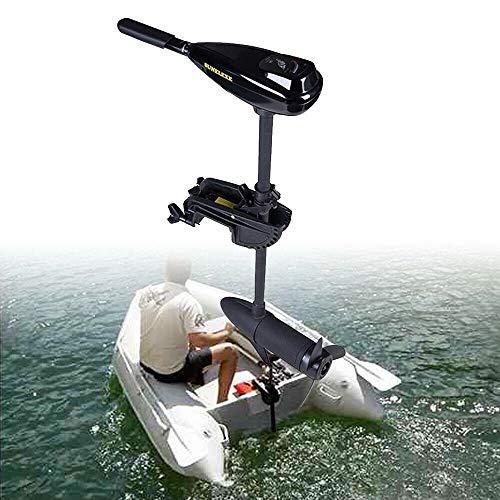 Kaibrite Electric Trolling Brush Motor,Motore fuoribordo,50lb 12V 612W motore fuoribordo per barca gonfiabile,barca da pesca, barca gommone