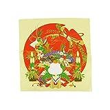 [キステ] 風呂敷 ふろしき 彩時記 季節柄 綿100% 50cm 小風呂敷 タペストリー (お正月)