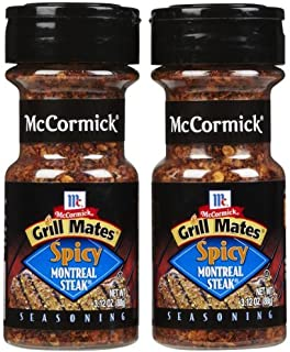 McCormick Grill Mates Spicy Montreal Steak, 3.12 oz, 2 pk by McCormick