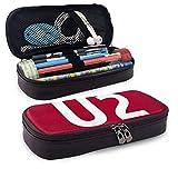 U-2 - Estuche rectangular para lápices y artículos de papelería para niños, adolescentes, niñas, hombres, mujeres